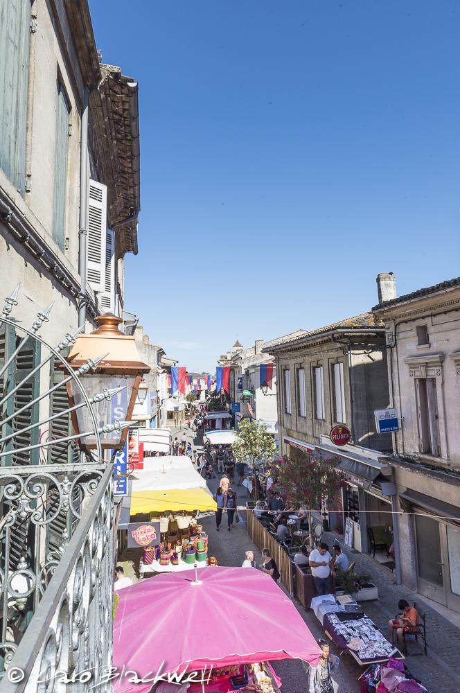 Monday Market in Castillon la Bataille