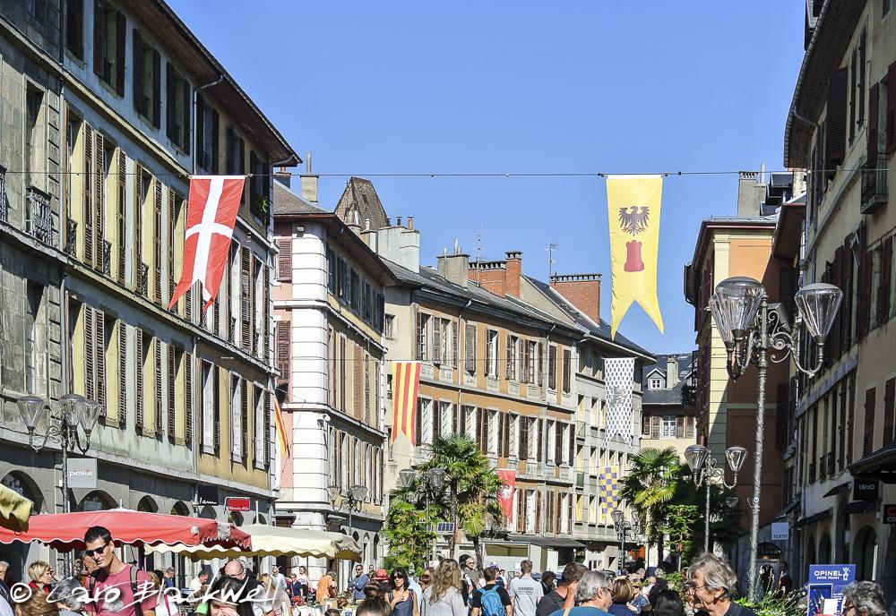 Place de Saint Leger, Chambery