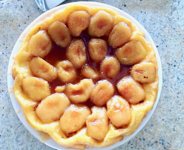 Tarte Tatin from the Taste of Savoie Kitchen