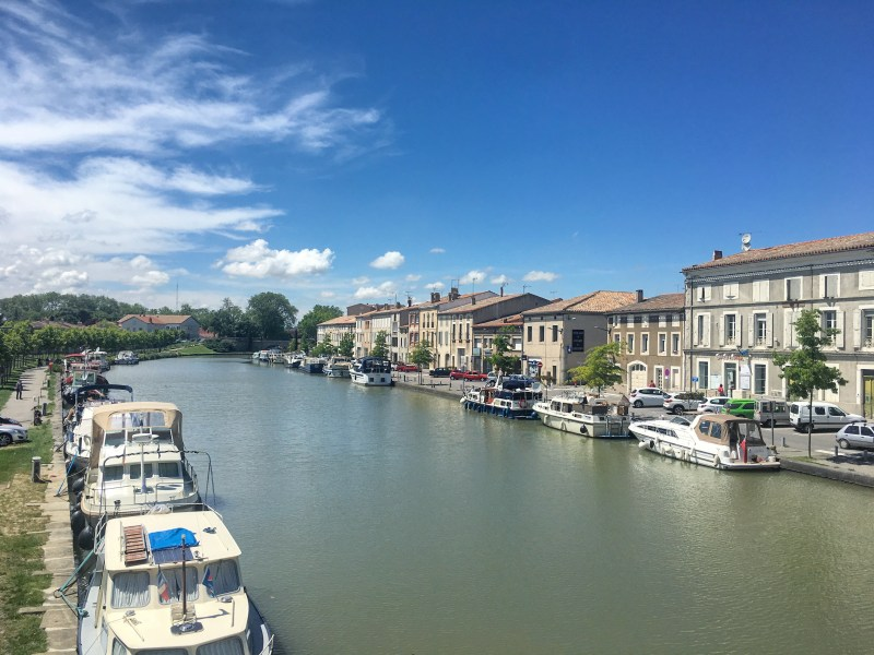 Castelnaudary on the Canal du Midi