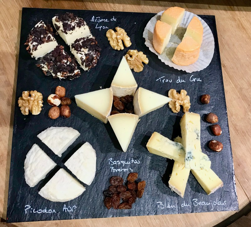 Cheese tasting at Crèmerie Lyonnaise