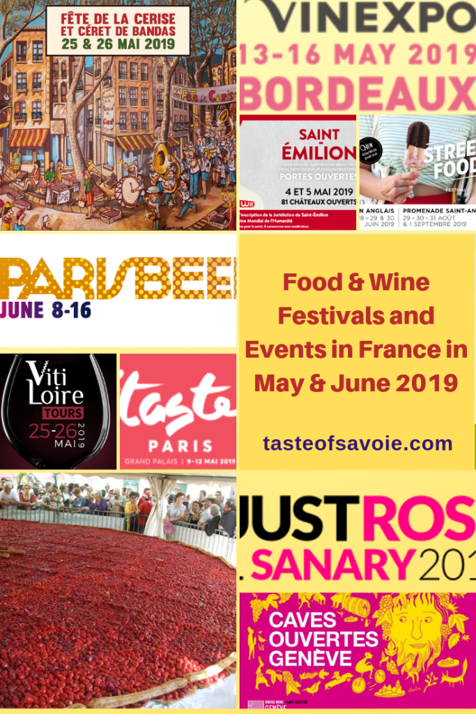 Food & Wine Festivals in France in May & June