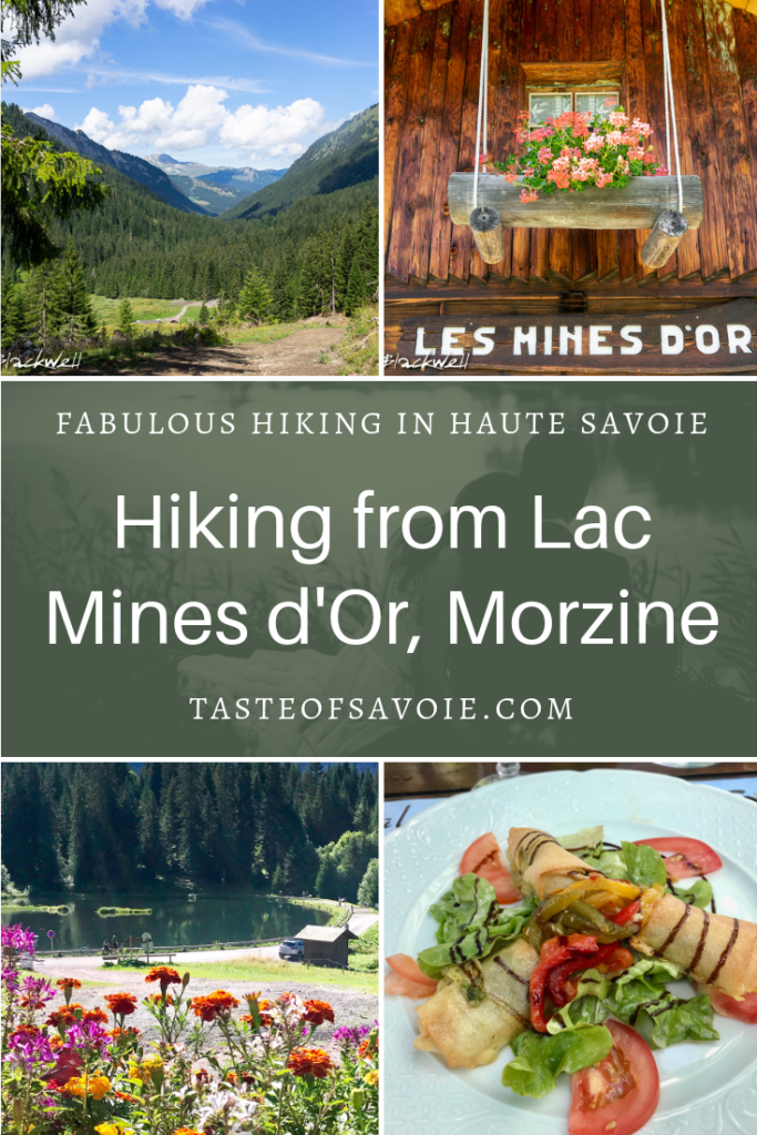 Hiking from Lac Mines d'Or, Morzine
