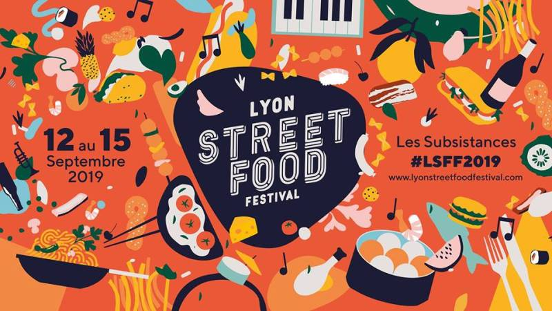 Lyon Street Food Festival  September - 12 - 15th