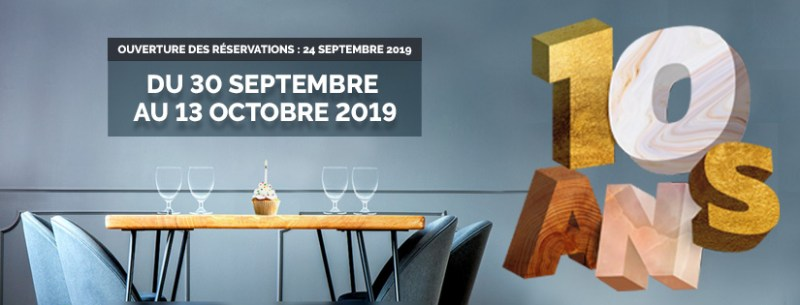 Tous au Restaurant  30 September - 13 October