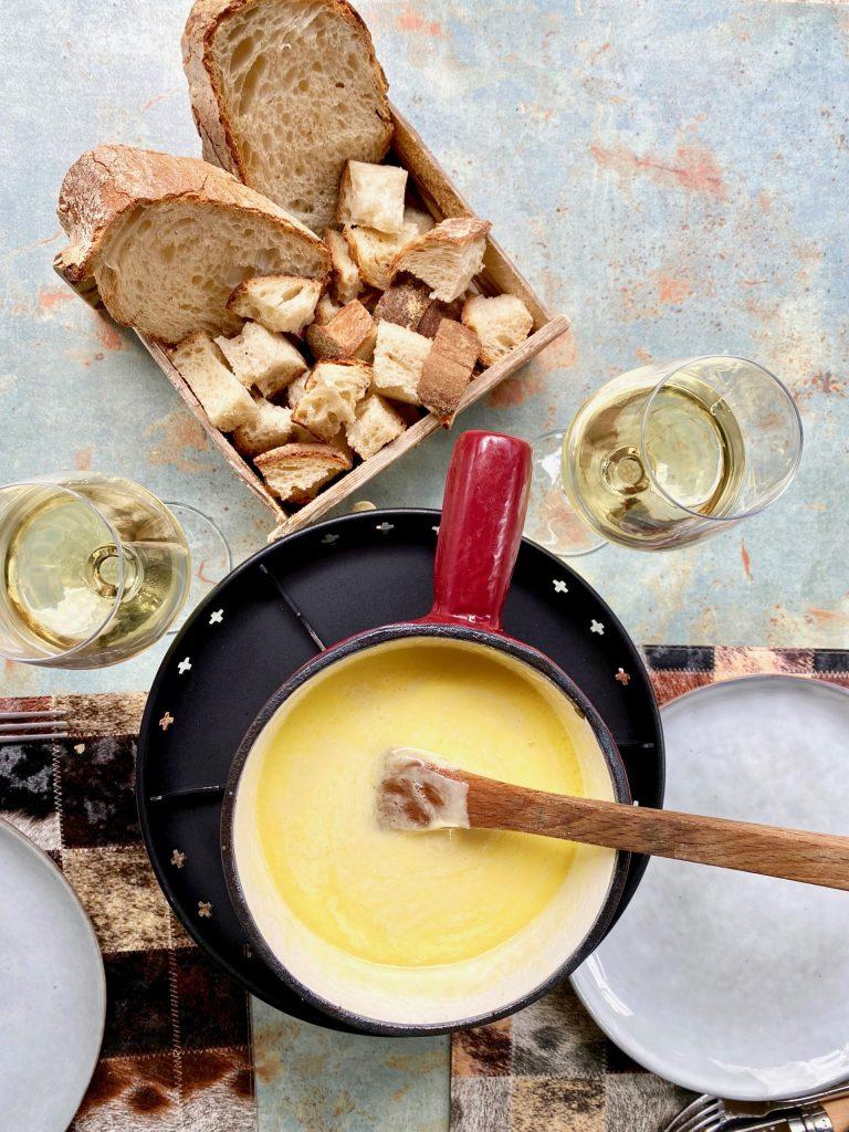 Cheese Fondue Savoyarde - Taste of Savoie