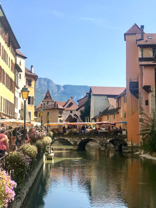 Market Day in Annecy, Haute Savoie
