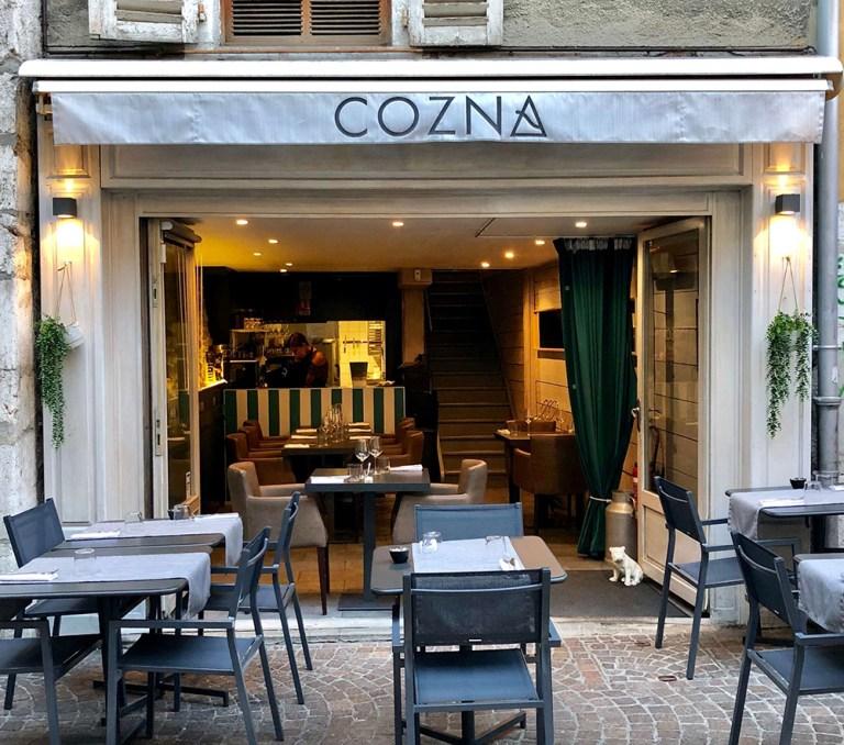 Restaurant Cozna, Annecy