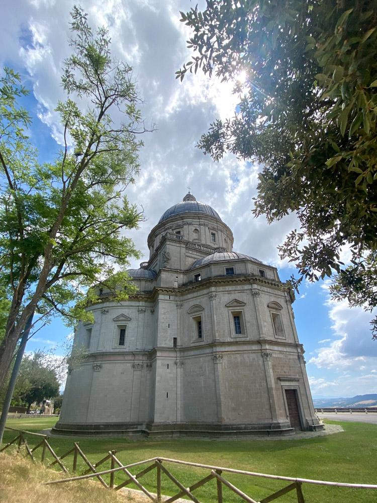 The church of Santa Maria della Consolazione, Todi, Italy