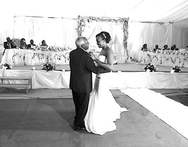 Taste of South Sudan photo of father and daughter dance