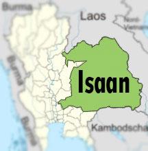 Isaan map