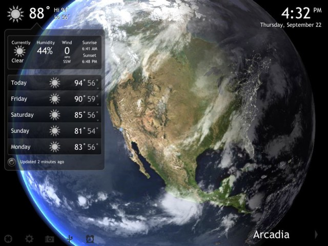 living earth app