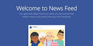 facebook newsfeed navigacija