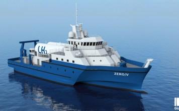 brod na vodonik pogon