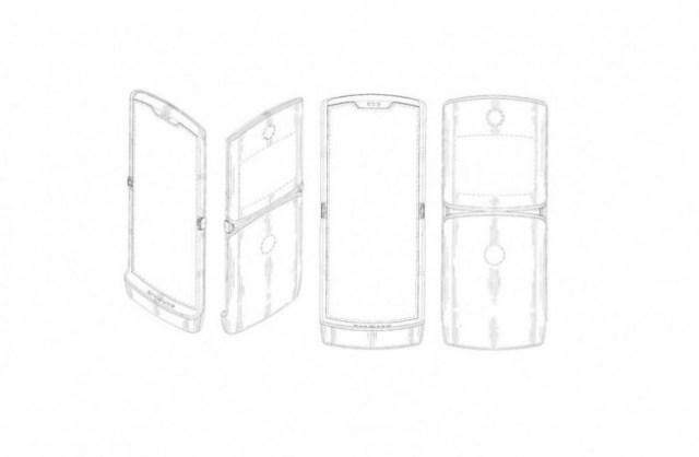 motorola fleksibili telefon
