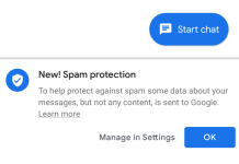 google spam blocker