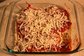 Simple Chicken Parmesan