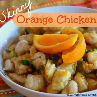Skinny Orange Chicken
