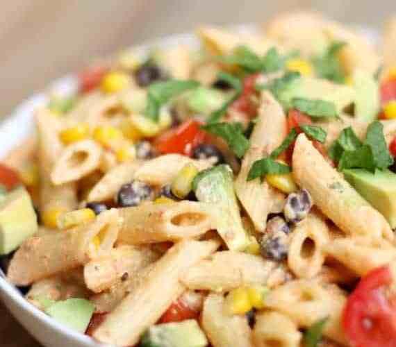 Chipotle Pesto Pasta