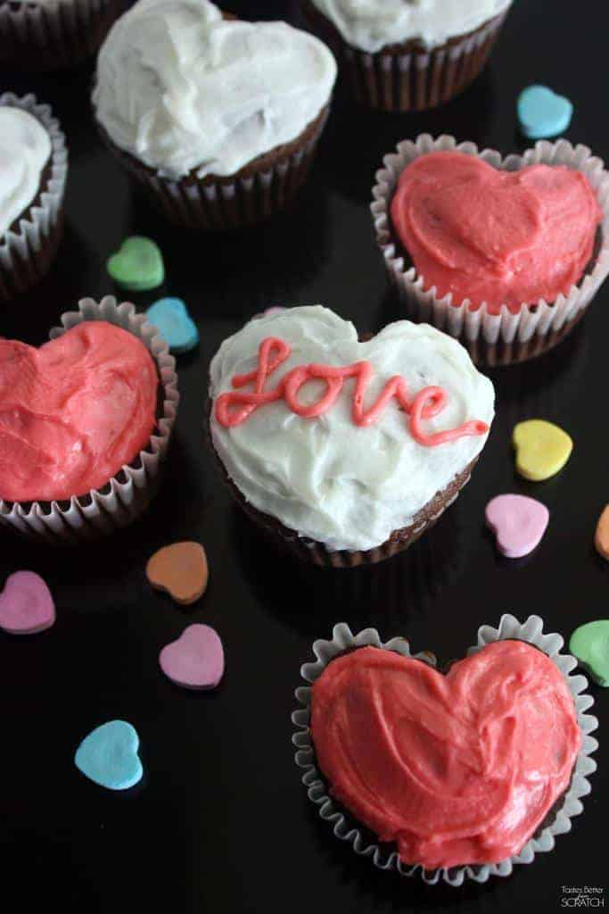 Heart Cupcakes Made With A Muffin Tin Tastes Better