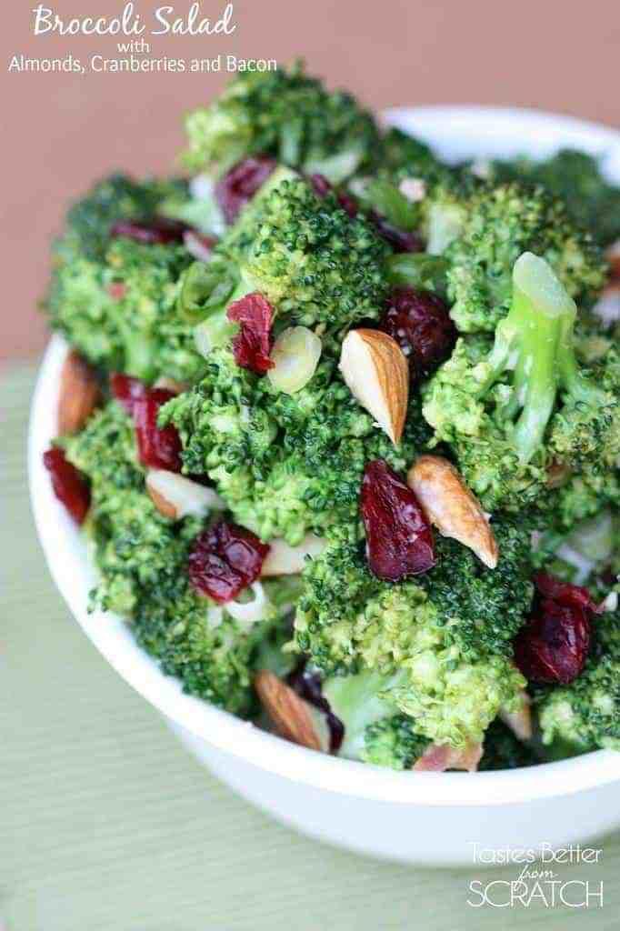 Broccoli Salad on TastesBetterFromScratch.com
