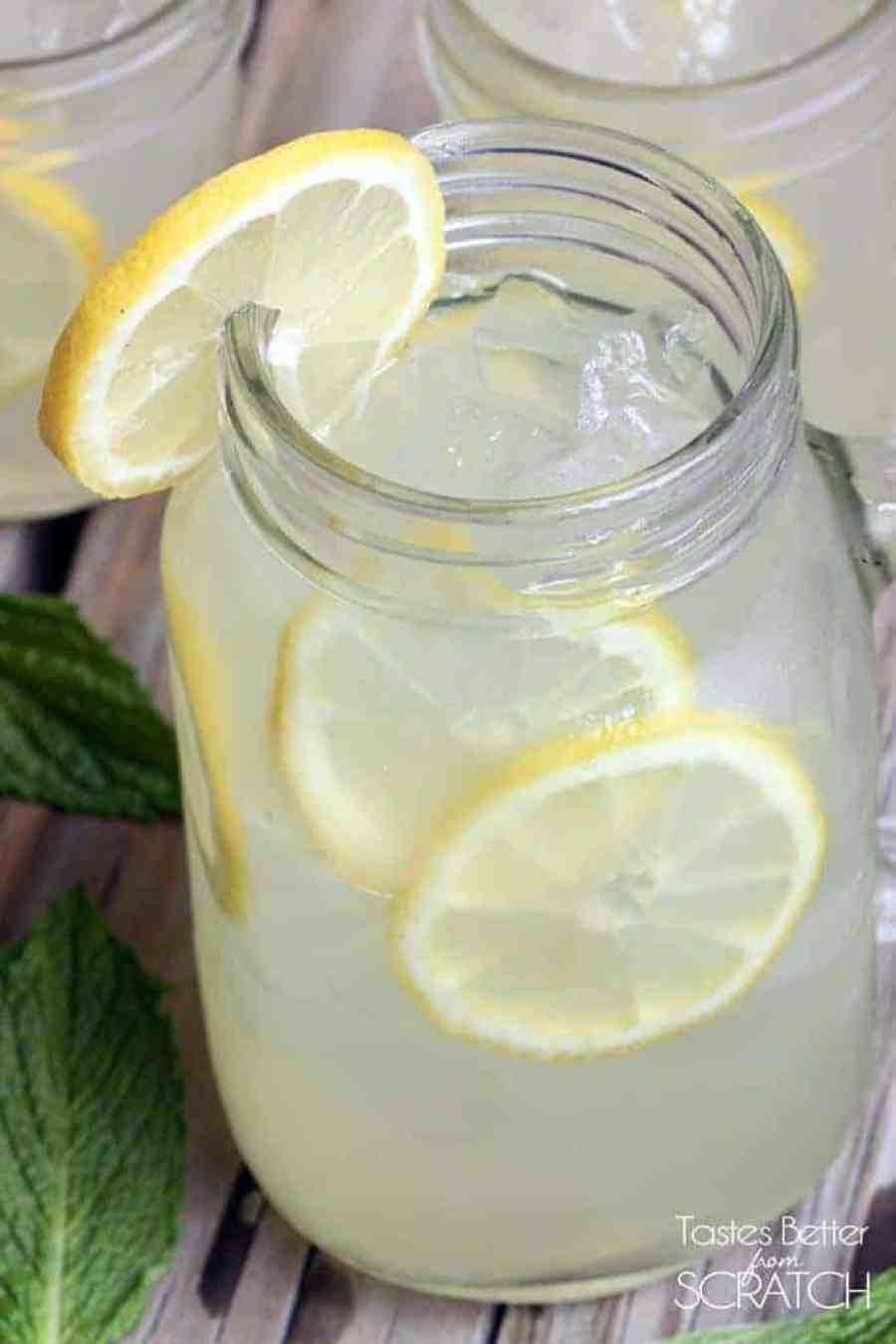 Fresh Squeezed Lemonade on TastesBetterFromScratch.com