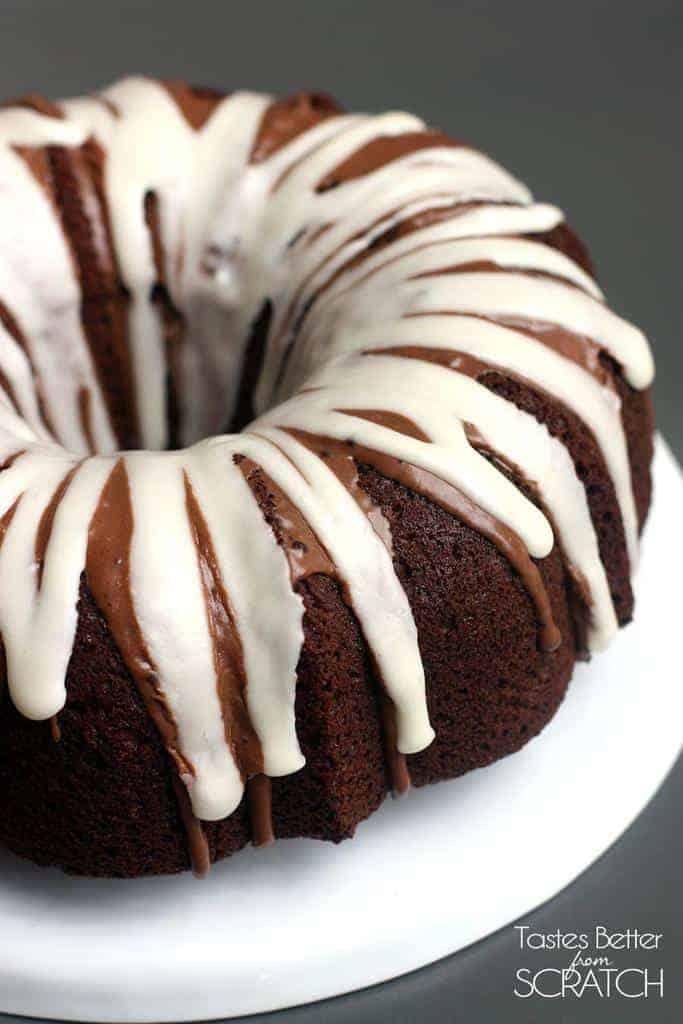 Chocolate Macaroon Bundt Cake Scratch