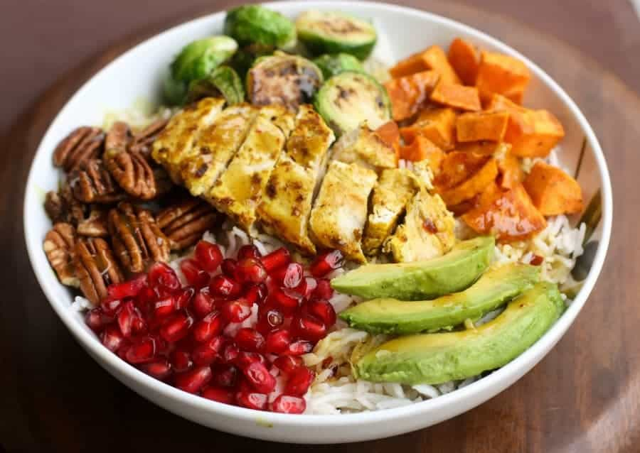 Coconut Curry Chicken and Veggie Bowls| Tastes Better From Scratch