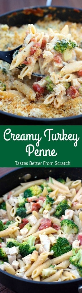 Leftover turkey pasta bake recipes