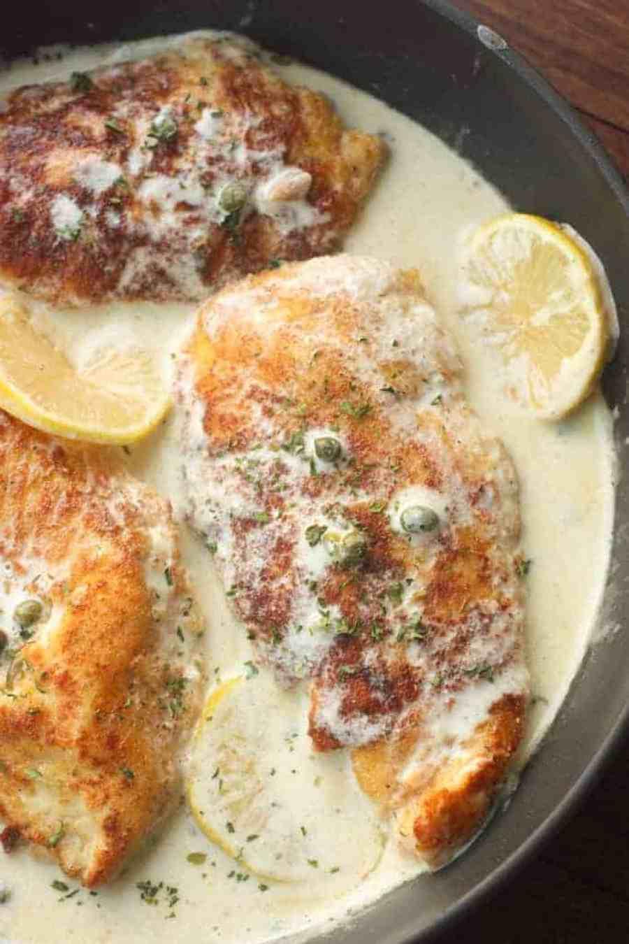 Creamy Lemon Chicken Piccata | Tastes Better From Scratch
