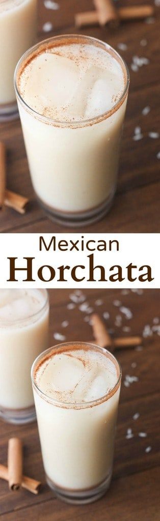 ... homemade Authentic Mexican Horchata. | Tastes Better From Scratch