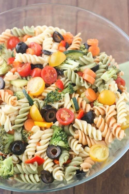 Italian Pasta Salad | tastesbetterfromscratch.com