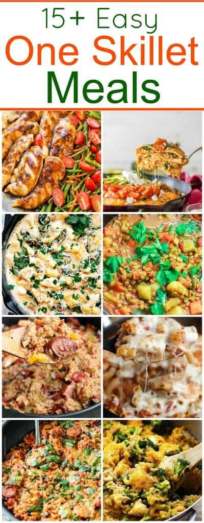 One_Skillet_Meals_Collage