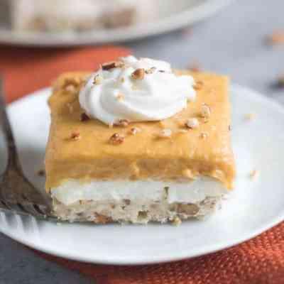Pumpkin Dream Dessert