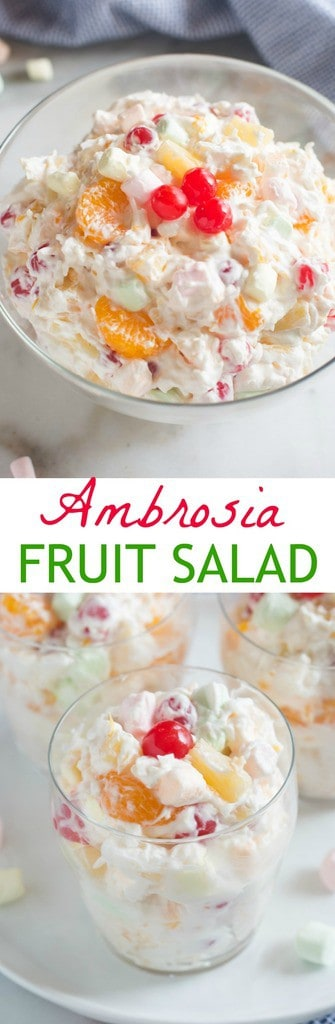 ambrosia fruit salad   tastes better from scratch