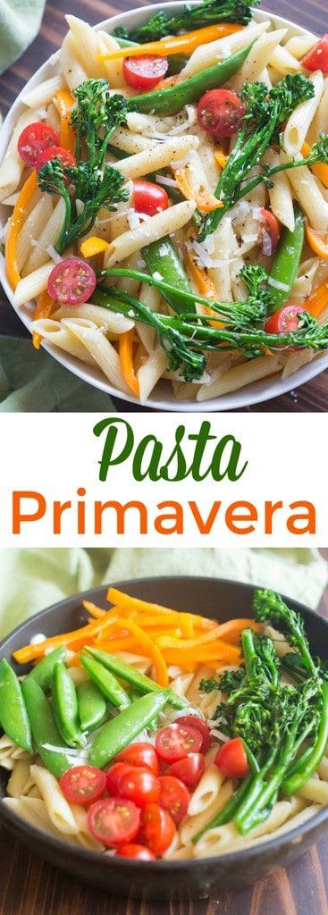 Pasta Primavera or
