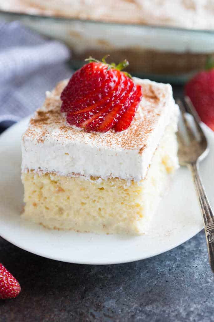 Make Tres Leches Cake Scratch