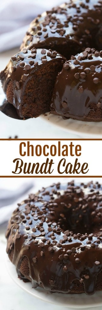 Chocolate Bundt Cake | - Tastes Better From Scratch