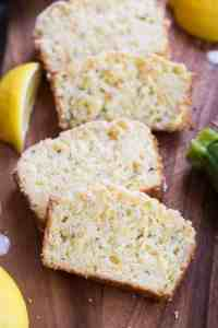 My FAVORITE Lemon Zucchini Bread recipe! This is such an easy bread recipe and always popular. | tastesbetterfromscratch.com