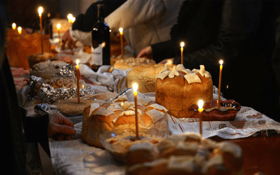 Slava – The Serbian Orthodox symbol of the guest, the host, and the food
