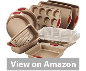 Best Bakeware Set - Rachael Ray Cucina Nonstick Bakeware 10-Piece Set Review