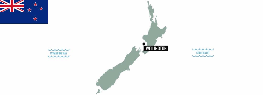 New Zealand. Kokkeskoler, markeder, madvandringer, streetfood