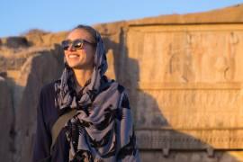 Emilie ved Persopolis