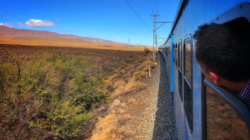 Størstedel af turen er hen over højsletten The Great Karoo.