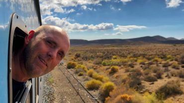 . Rejs med tog tværs over Sydafrika fra Johannesburg til Cape Town.
