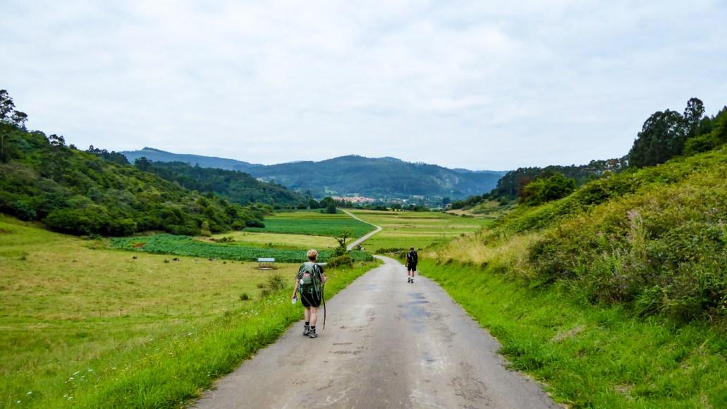 Caminoen byder på smukke naturoplevelser.