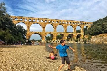Pont du Gard, Frankrig.