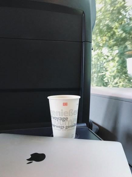 Mette Willert. På tog gennem Europa med en digital nomade. (c) Mette Willert
