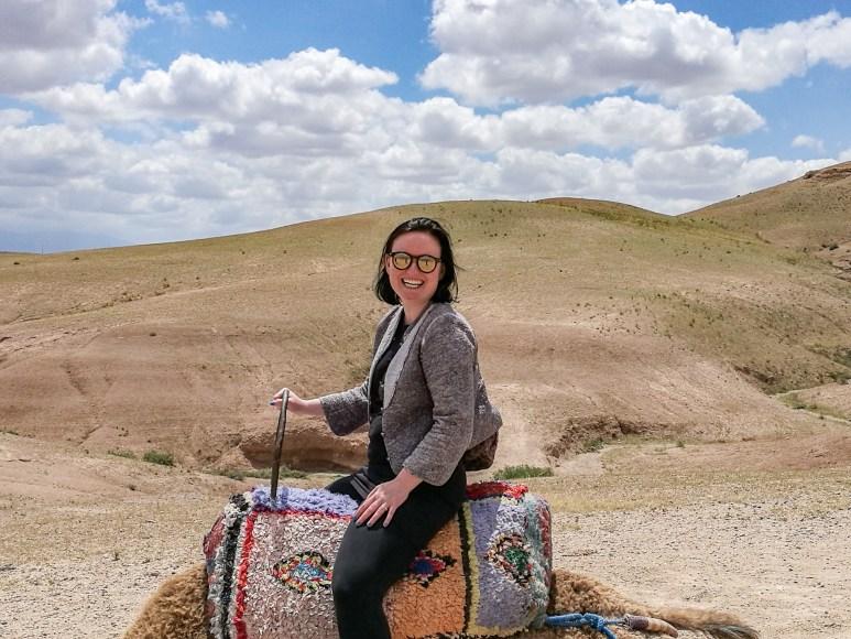 Pi Rasmussen fortæller i podcasten om sin road trip til Marokko.