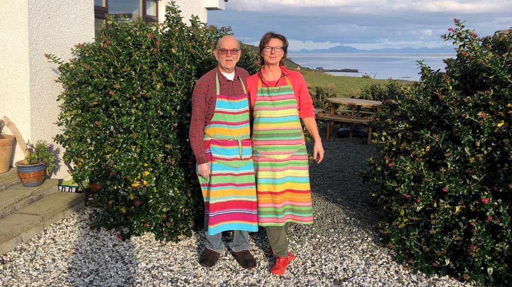 Du bør på bed & breakfast på din rejse til Skotland. Her der det Simone og Jonathan fra Carters Rest på Isle of Skye.